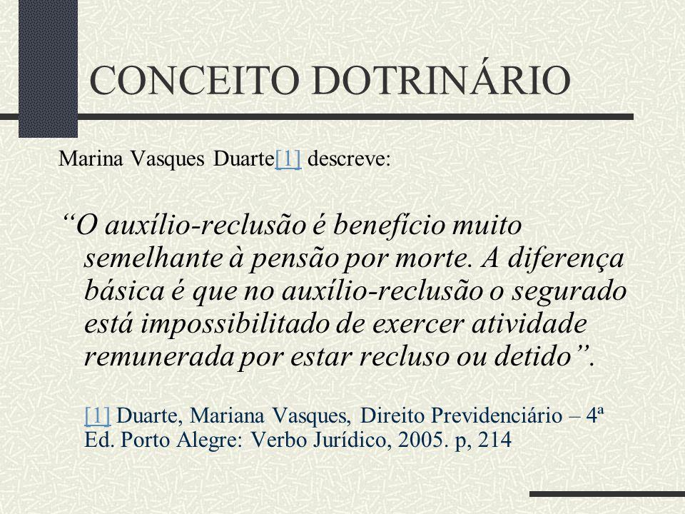 CONCEITO DOTRINÁRIO Marina Vasques Duarte[1] descreve: